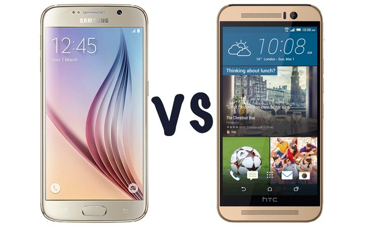 Meglio Samsung Galaxy S6 o HTC One M9?