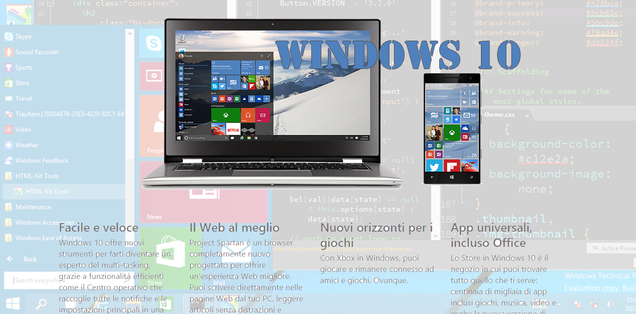 Ufficiale, Windows 10 in 7 varianti
