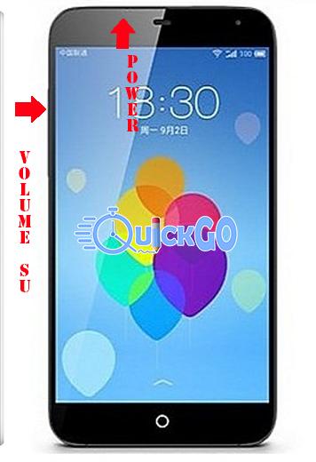Hard Reset e Soft Reset Android, MEIZU MX4 - QuickGo
